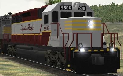 CP SD40 #5506