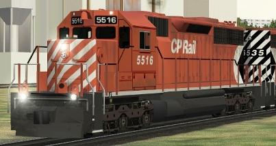 CP SD40 #5516