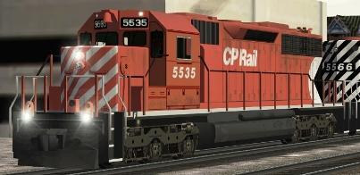 CP SD40 #5535
