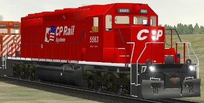 CP SD40 #5563