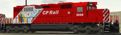CP SD40-2 #5698 Expo86