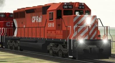 CP SD40-2 #5816 (khpsd40s.zip shown)