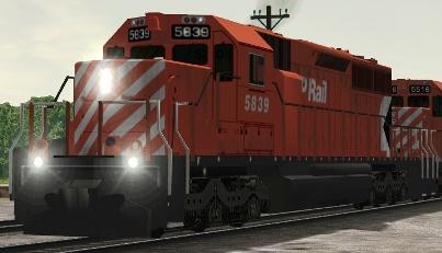 CP SD40-2 #5839