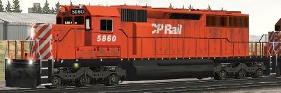 CP SD40-2 #5860