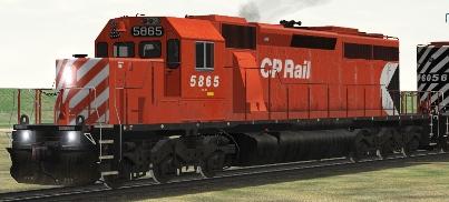 CP SD40-2 #5865 (cp40arsm.zip shown)