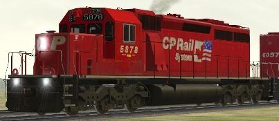 CP SD40-2 #5878 (cp40sodf.zip shown)