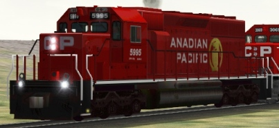 CP SD40-2 #5995 (cpr5995.zip shown)