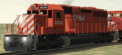 CP SD40-2 #6034