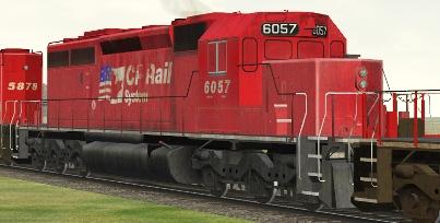 CP SD40-2(B) #6057 (cp40sodf.zip shown)