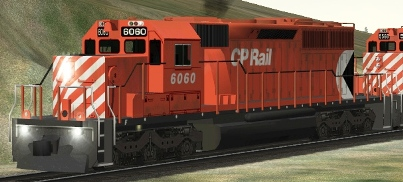 CP SD40-2 #6060