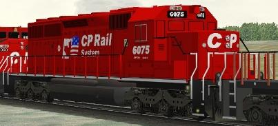 CP SD40-2(B) #6075