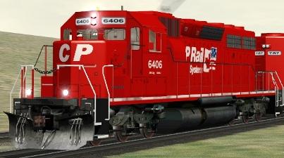 CP SD40A #6406