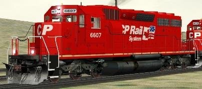 CP SD40-2 #6607