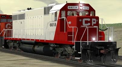 CP SD40-2 #6618