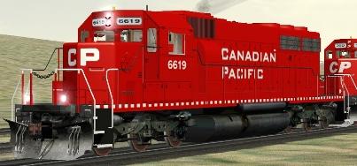 CP SD40-2 #6619
