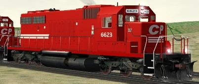 CP SD40-2 #6623