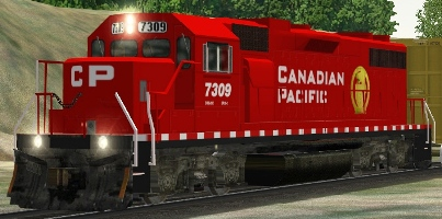 CP GP38-2 #7309 (cpgppack.zip shown)