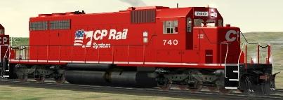 CP/SOO SD40 #740