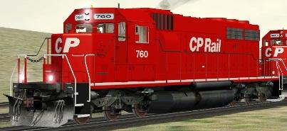 CP SD40-2 #760