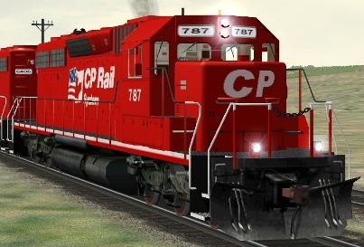 CP SD40-2 #787