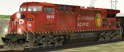 CP AC4400CW #8618