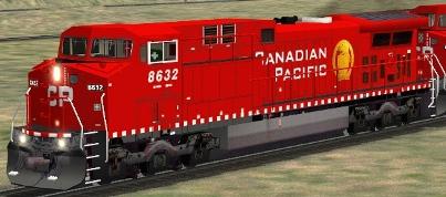 CP AC4400CW #8632