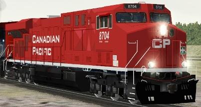CP ES44AC #8704