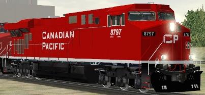 CP ES44AC #8797