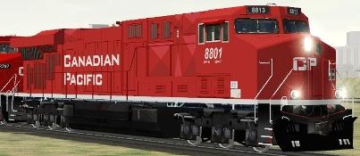 CP ES44AC #8801