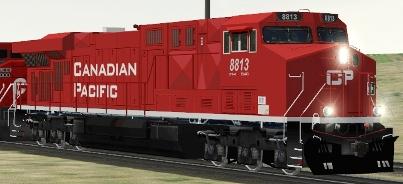 CP ES44AC #8813
