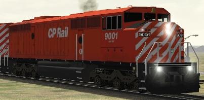 CP SD40-2F #9001
