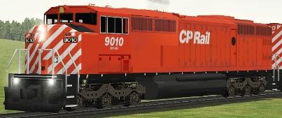 CP SD40-2F #9010