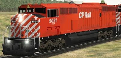 CP SD40-2F #9021