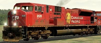 CP SD90/43MAC #9126