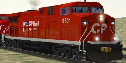 CP AC4400CW #9501