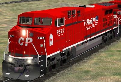 CP AC4400CW #9522