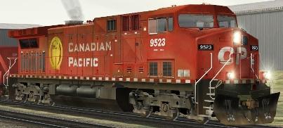 CP AC4400CW #9523 (RP_CP9523.zip shown)