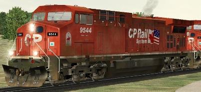 CP AC4400CW #9544