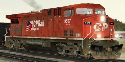 CP AC4400CW #9567 (RP_CP9567.zip shown)