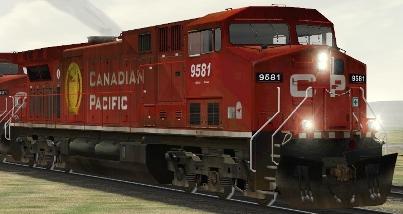 CP AC4400CW #9581 (RP_CP9581.zip shown)