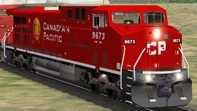 CP AC4400CW #9673