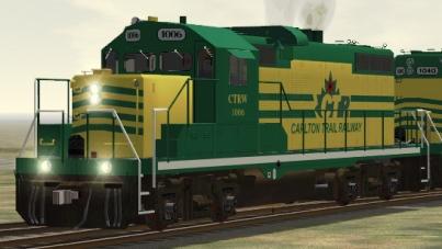 Carlton Trail Railway GP10 #1006
