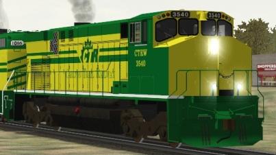 Carlton Trail Railway M-420W #3540