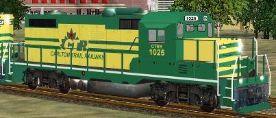 Carlton Trail Railway GP10 #1025 (CTRY_GP10s.zip shown)