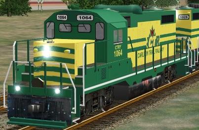 Carlton Trail Railway GP10 #1064 (CTRY_GP10s.zip shown)