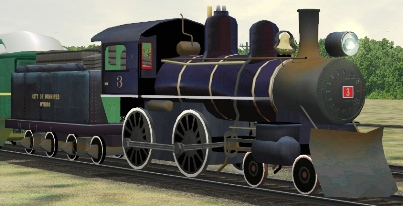 CWH 4-4-0 #3