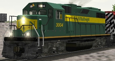 Esquimalt & Nanaimo (CP) GP38AC #3004