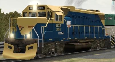 GEXR GP38 #3856
