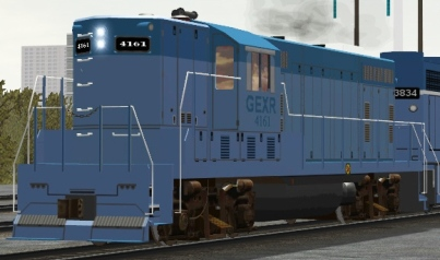 GEXR GP7-Slug #4161