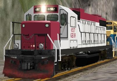 CEFX GP38-3 #6537